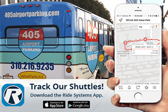 valuepark lax track shuttles